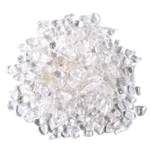 水晶さざれ 100g サイズ中 天然石 パワーストーン 浄化グッズ