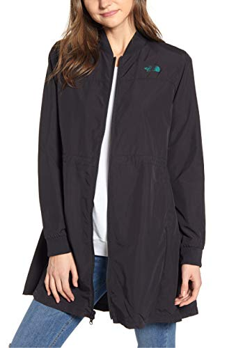The North Face Flybae Water Resistant Bomber Jacket, Black, Medium