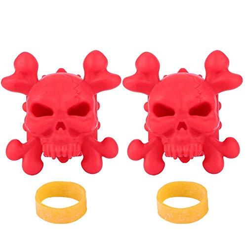 Tihebeyan Estabilizador de Arco para Arco, 2 Piezas Compuesto de Caucho Estabilizador de Arco Caza Flecha Accesorios de Arco de Tiro con Arco(Rojo)
