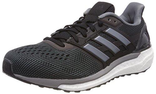 Adidas Supernova M, Zapatillas de Trail Running para Hombre, Negro (Negbas/Negbas/Gritre 000), 41 1/3 EU