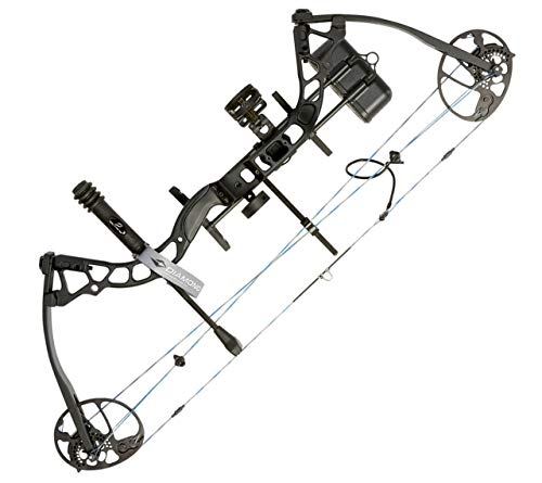 Diamond Archery Atomic Youth Compound Bow Package, Right Hand, Black