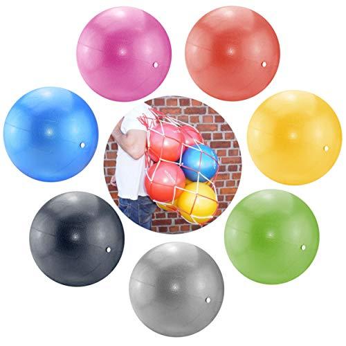ATC Handels GmbH Soft Pilates & Yoga Ball Set 14 Bälle + 1 Ballnetz für 14 Bälle