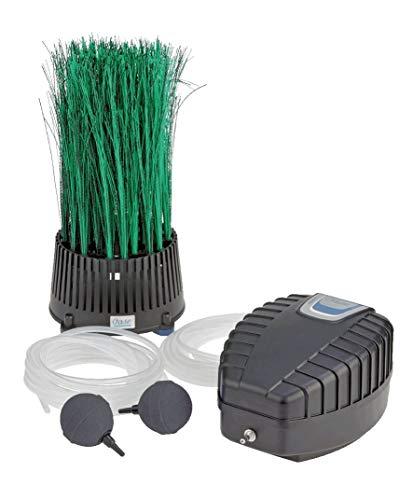 OASE 57071 Teichbelüfter OxyTex Set 500 | Teichbelüftung | Sauerstoffversorgung | Belüftungspumpe | Filtermedium