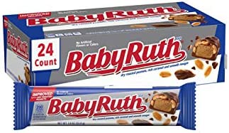 24-Count Baby Ruth Milk Chocolate-y Candy Bars, 1.9 oz