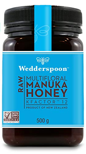 Wedderspoon RAW Manuka Honey Active 12+ 500 g (order 12 for trade outer)