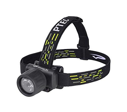 Princeton Tec Tauch-/Stirnlampe Roam mit Adapter für die gängigsten Go Pro-Halterungen Wasserdicht bis 33 m Tauchtiefe (Schwarz)