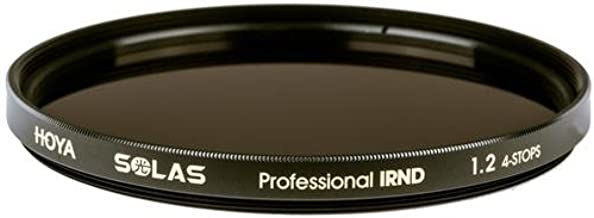 Hoya SOLAS IRND 1.2 82mm Infrared Neutral Density Filter