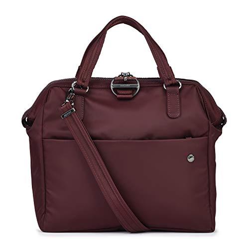 Pacsafe Citysafe CX Satchel, aktetas met diefstalbescherming, grote schoudertas met veiligheidskenmerken, schooltas, 8 liter