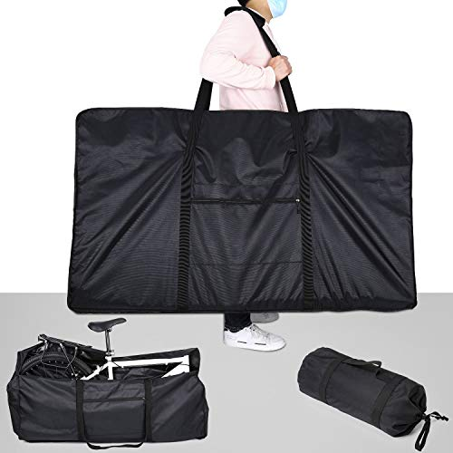 Bike Travel Bag, 26 inch Dust Proof Bike Cover Portable Bike Storage Carry Case for Trip by Airplane Car Train
