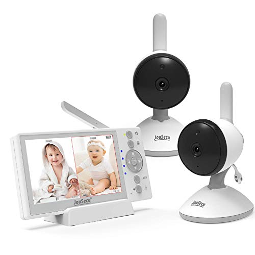 Baby Monitor 2 Camera 4.3 Inches LCD Split...