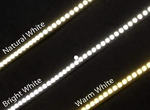 Best Quality 2835 - Tira de luces LED flexible (DC12 V, Samsung, 300 ledes, 4,8 W/m, 600 lm/m, 6500 K, 5 m), color blanco frío