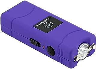 VIPERTEK VTS-881 - 35 Billion Micro Stun Gun - Rechargeable with LED Flashlight, Purple
