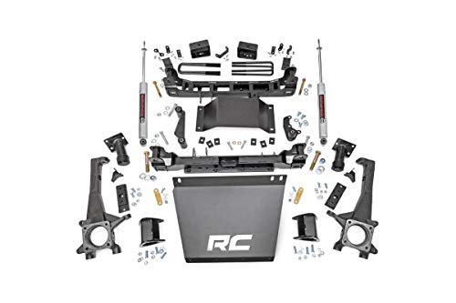 Rough Country 4' Lift Kit (fits) 2016-2020 Tacoma | N3 Shocks | Skid Plate | Knuckle Suspension System | 75720