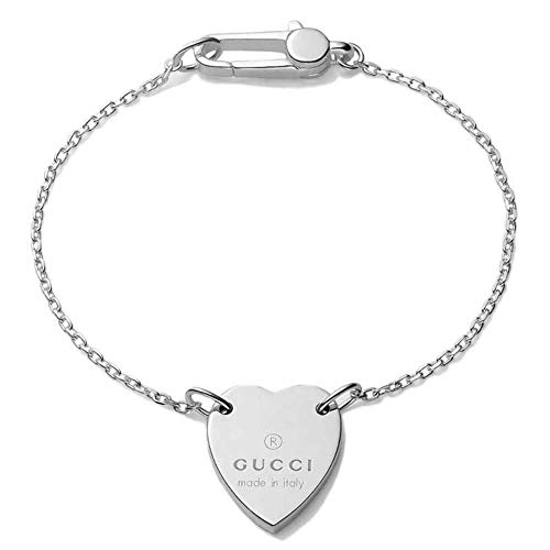 Gucci Heart bracelet with Gucci trademark YBA223513001017
