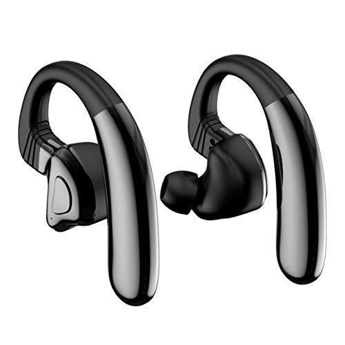 Wsaman Auriculares con cancelación de Ruido, Auriculares Bluetooth Deportivos, Auriculares para Trabajo y Deportes Viaje para Durante Negocios/Oficina/Conducción