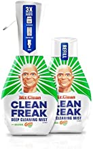 Mr. Clean Freak Deep Cleaning Mist Multi-Surface Spray with Gain Original Bundle, 1 Starter + 1 Refill