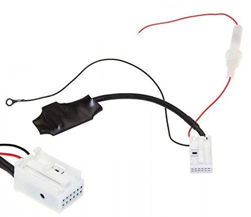 BT Bluetooth Adapter MP3 AUX 12-Pin Radio RCD RNS 210 215 310 315 510