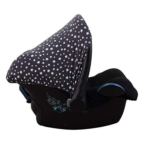 JANABEBE Sonnenverdeck kompatibel mit Maxi Cosi Bebe Confort Pebble Winter Sky