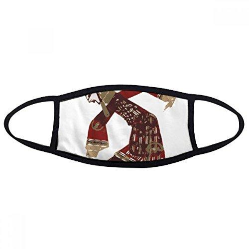 DIYthinker Traditionele Chinese Cultuur Schaduw Speel Mond Gezicht Anti-stof Masker Anti Koud Warm Wasbaar Katoen Gift