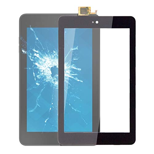 un known Accesorios Electrónicos Panel táctil para DELL Venue 7 3730 Tablet Accessory (Color : Black)