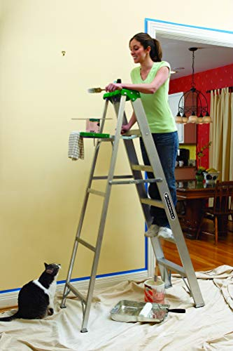 Louisville Ladder AS4004 225-Pound Duty Rating Aluminum Stepladder, 4-Foot