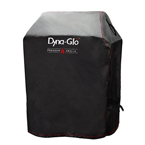 Dyna-Glo DG300C Premium Small Space LP Gas Grill Cover Grillabdeckung, schwarz, 30L x 24W x 44H in