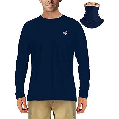 Long Sleeve Sun Shirts for Men UV Protection Fi...