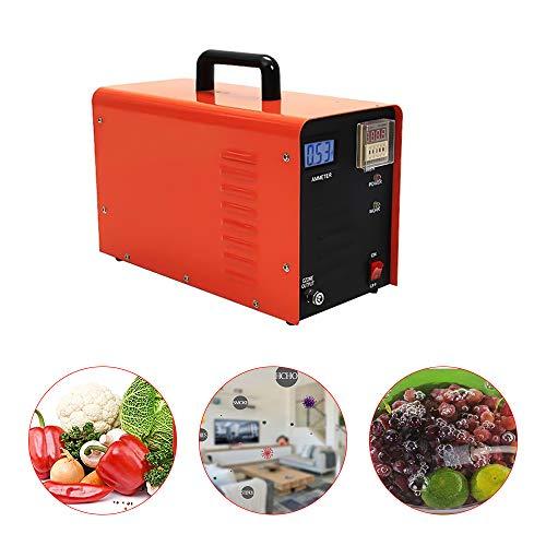 Raymonj Generador de ozono Industrial 5000 MG/h O3 Ozonizador Desodorante purificador Aire para Tratamiento Aire y Agua para el hogar, fábrica