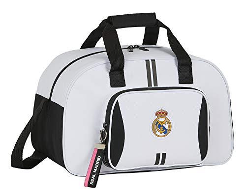 Safta 712054273 Bolsa de Deporte, Bolso de Viaje Real Madrid CF