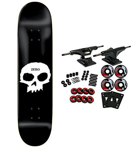 Zero Skateboard Complete Single Skull 8.25