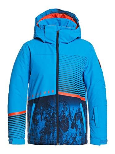 Quiksilver Jungen Schneejacke Silvertip - Schneejacke für Jungen 8-16, Brilliant Blue Parafinum, M/12, EQBTJ03117