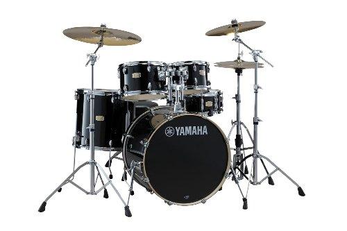 Yamaha Stage Custom Birch 5pc Drum Shell Pack - 22' Kick, Raven Black