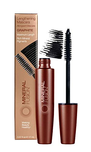 Mineral Fusion Lengthening Mascara, Graphite, 0.57 Fl Oz (Packaging May Vary)