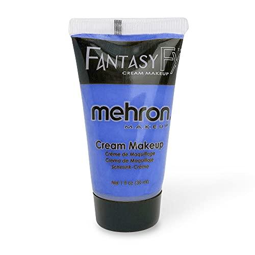 Mehron Makeup Fantasy F/X Water Based Face & Body Paint (1 oz) (BLUE)