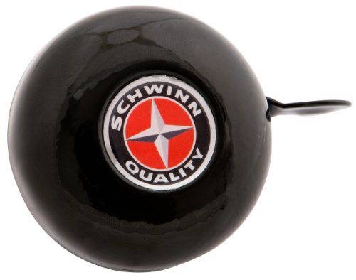 Schwinn Classic Bicycle Bell, Black, One Size