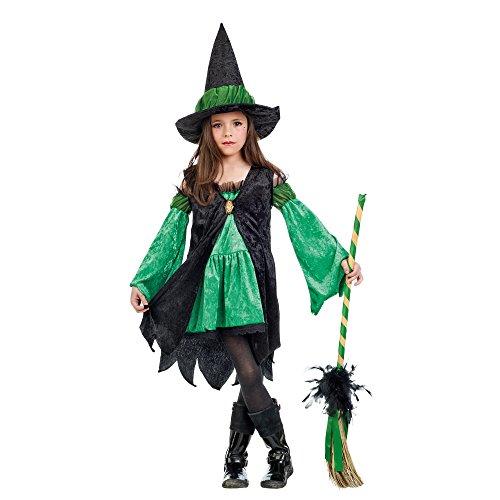 Limit Mi877 T4 sorcière Émeraude Costume pour Enfant