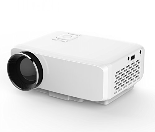 Projector, Syhonic S9 HD LED Mini Portable Multimedia Home Theater Projector Support HDMI USB SD AV VGA TV Interface HD Video Games TV Movie TXT Music Projector
