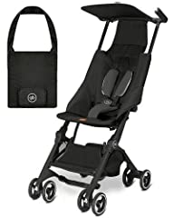 Constructed of lightweight, durable materials for a lasting design Includes convenient travel bag Easily push and steer the stroller with one hand Recommended weight: Up to 55 lb Self-standing or ultra-compact fold options offer simple storage and tr...