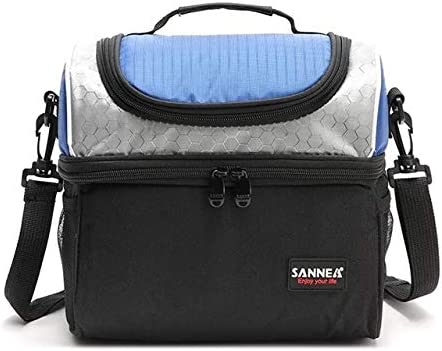 Insulated Lunch Bag Sannea insulated lunch bag with adjustable shoulder strap also used as food product image