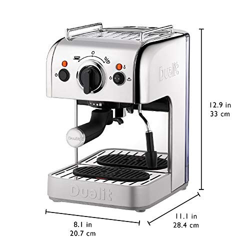 41Cebi77DuL. SS500  - Dualit 3-in-1 Coffee Machine | Polished Stainless Steel | 1.5 L Capacity | Multi-Brew Versatility | Patented Pure Pour…