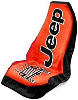 Seat Armour Universal Fit Jeep Towel-2-Go Seat Protector - Red