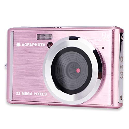 AGFA Photo Kompaktkamera DC5200, Rosa