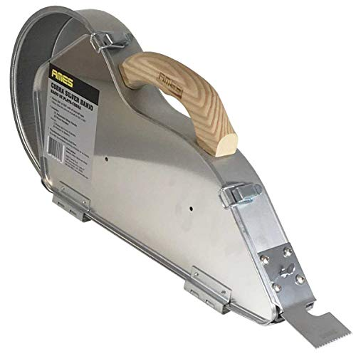 Ames Cobra Silver Banjo Drywall Taping Tool - Professional Handheld Taper