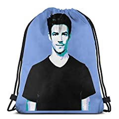 Waterproof Material:Made Of Durable Polyester, Comfortable, Not Easy To Break And Easily Washable, Ensuring Long Time Of Usage. Large Capacity:The Drawstring Bag Measures Approx.16.9*14 Inch.Ldeal For Storing Books, Sneakers,Clothes,Snacks,All Kinds ...
