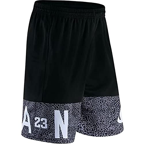 XXJJ Jordania - Pantalones cortos de baloncesto para hombre, para aficionados al deporte, entrenamiento, fitness, atletismo, bolsillo casual, n.º 23~C-XL