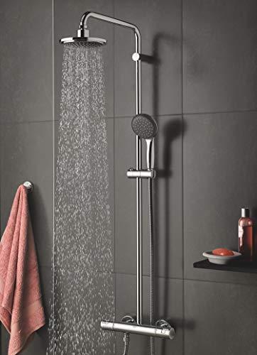 GROHE Vitalio Start Duschsystem, reduzierter Wasserverbrauch mit vollem Duschstrahl, 9.4 L/Min 27960000