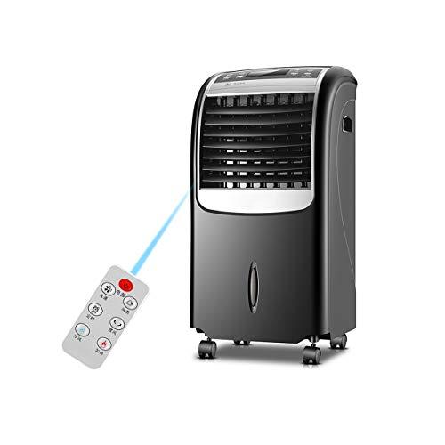 GJZhuan Tragbare Evaporative Luftkühler, Heizung Und Kühlung, Purifier Mit Fan Filter, Luftbefeuchter, Eiskristall Box, 15 Stunden-Timer, 3 Geschwindigkeiten, 8L Wassertank, Fernbedienung