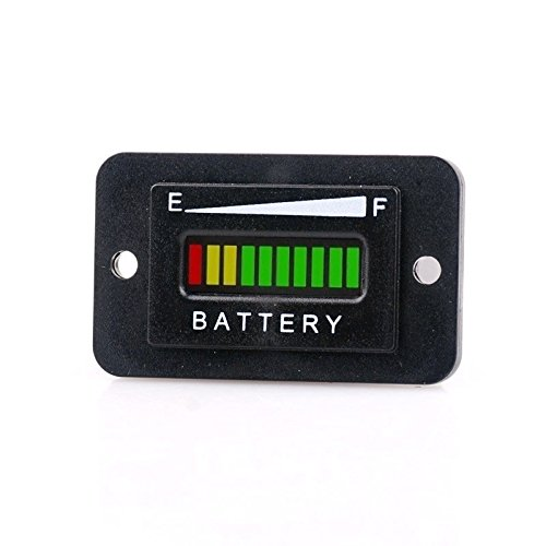 Find Discount 48 Volt LED Led Display Golf Cart Trucks RV Boats Lead-Acid Battery Indicator Meter Ga...