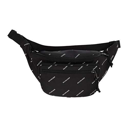 (バレンシアガ) Balenciaga メンズ バッグ ボディバッグ・ウエストポーチ Black Logo Explorer Belt Bag [...