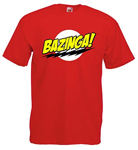 Bazinga The Big Bang Theory T-Shirt von S-XXL